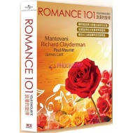 Romance 101: Your Favourite (6CD) - Mantovani, Richard Clayderman, Paul Mauriat, James Last