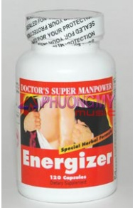 7. Doctor's Super Manpower Energizer